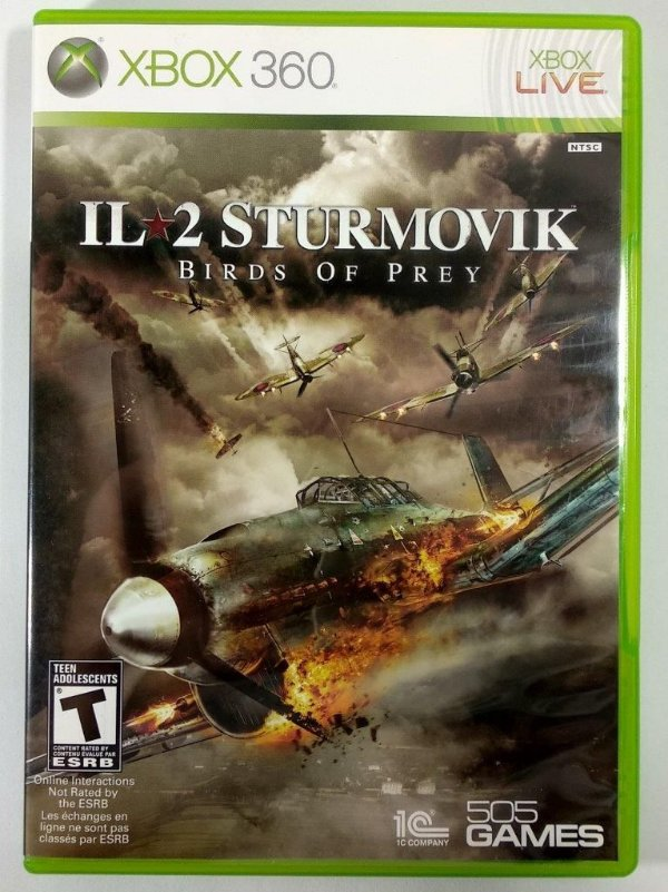 IL 2 Sturmovik Birds of Prey - Xbox 360