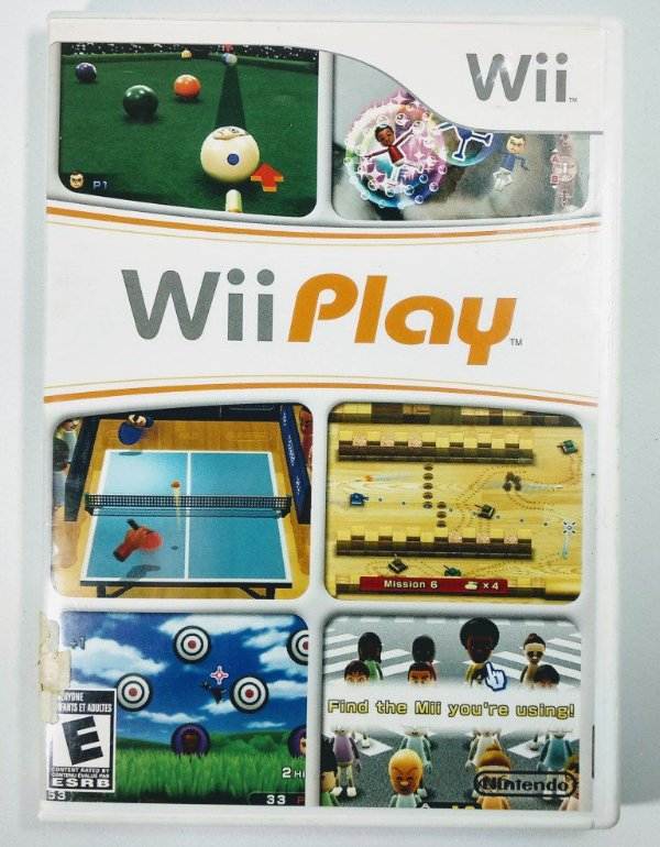 Jogo Wii Play - Wii
