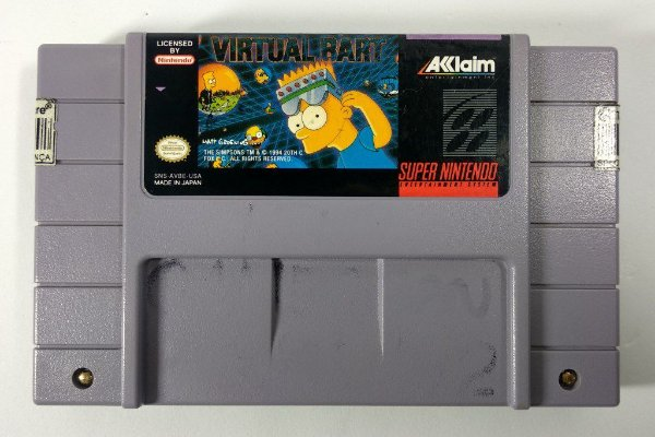 Virtual Bart Original - SNES