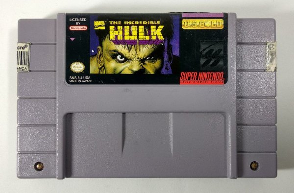 The Incredible Hulk Original - SNES