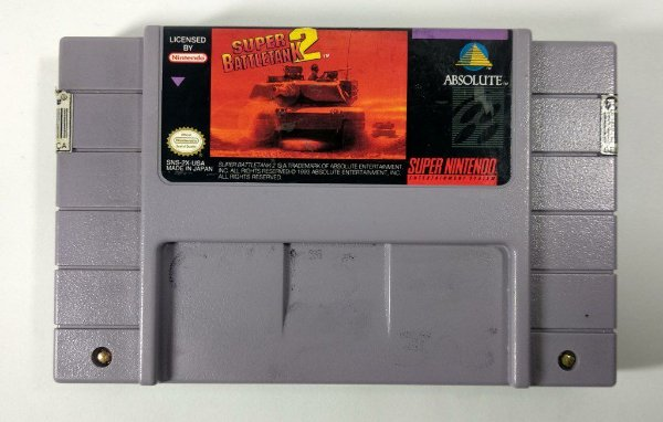 Super Battletank 2 Original - SNES
