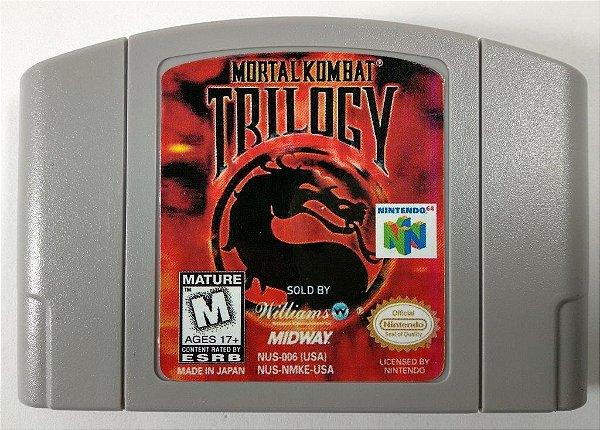 Mortal Kombat Trilogy - N64