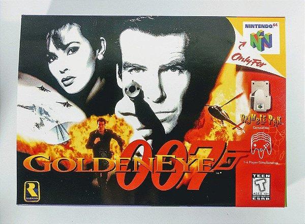 Jogo 007 Goldeneye - N64