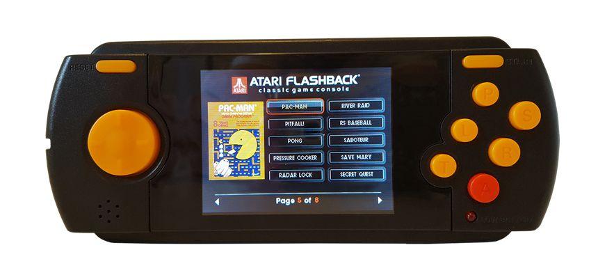 Atari Flashback portátil Tectoy + Cartão SD 1000 Jogos
