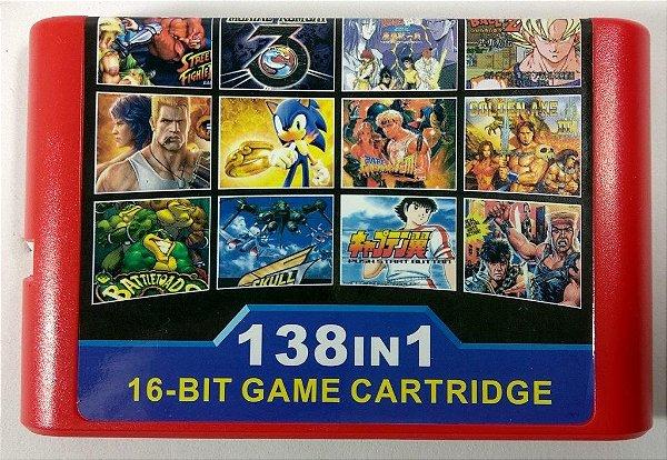 138 in 1 - Mega Drive