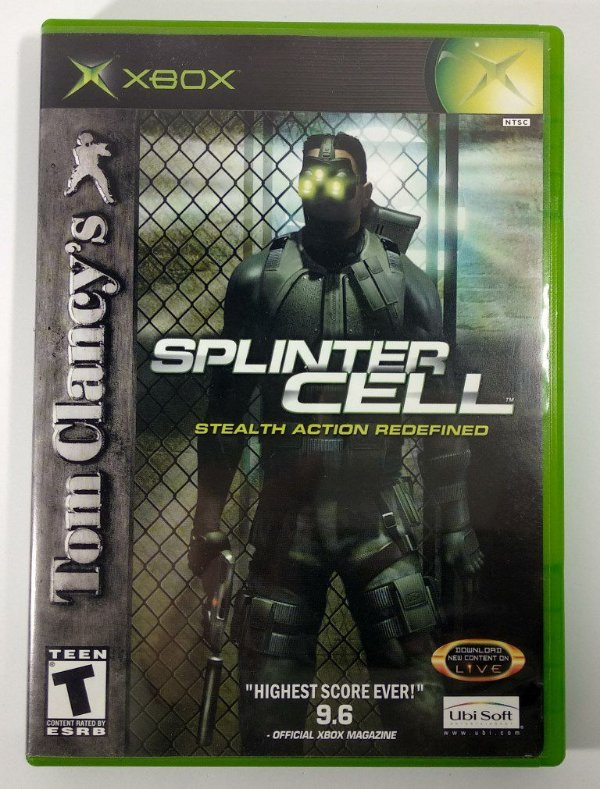 Splinter Cell Original - Xbox Clássico