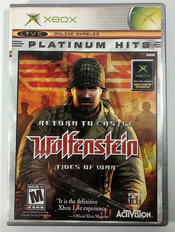 Wolfenstein Original - Xbox Clássico