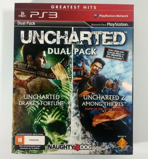 Uncharted Dual Pack - PS3