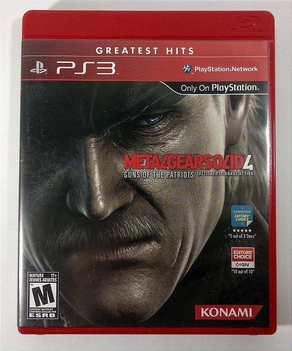 Metal Gear Solid 4 - PS3