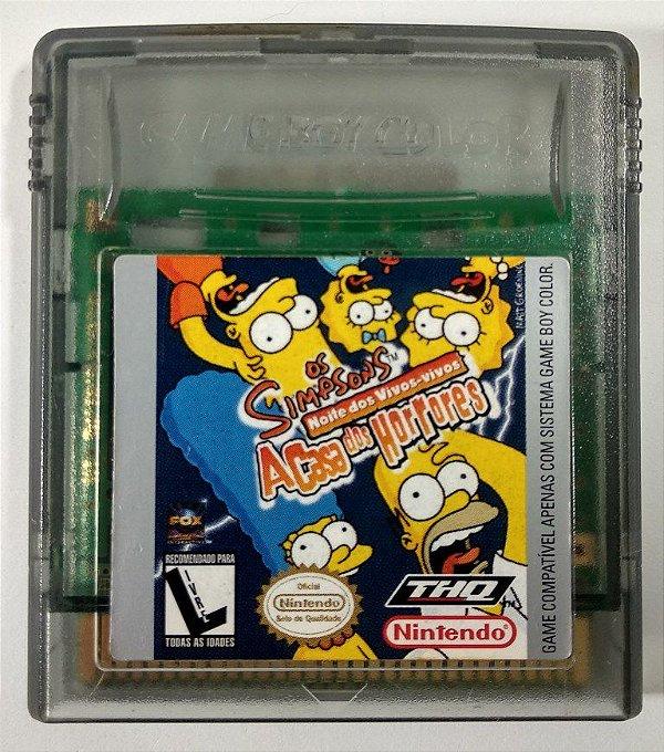 Os Simpsons a casa dos horrores Original - GBC