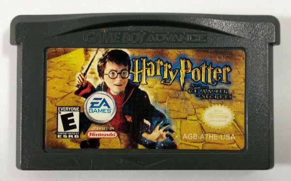 Harry Potter Chamber Secrets Original - GBA