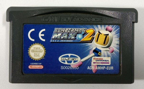 Bomberman Max 2: Blue Advance [EUROPEU] Original - GBA