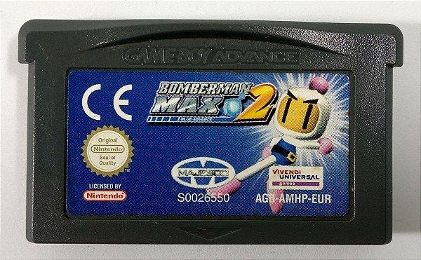 Bomberman Max 2: Blue Advance [EUROPEU] Original - GBA