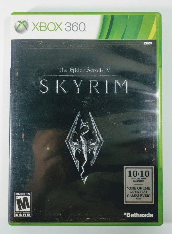 The Elder Scrolls V Skyrim - Xbox 360