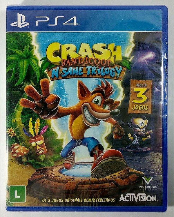 Crash Bandicoot N. Sane Trilogy (lacrado) - PS4
