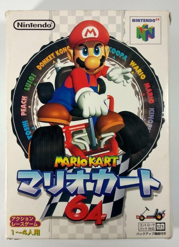 Mario Kart 64 Original [Japonês] - N64
