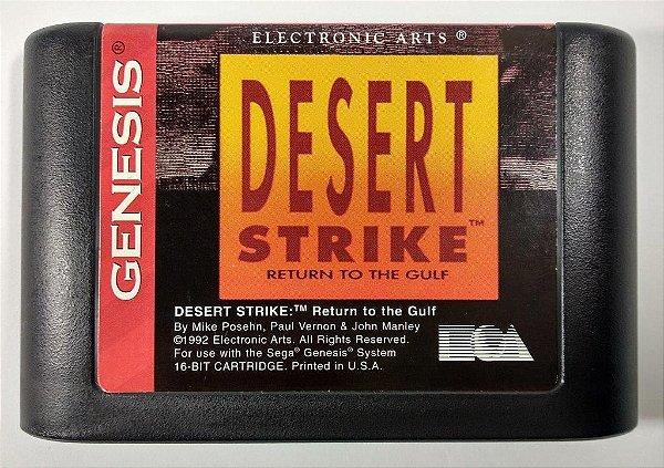 Desert Strike Original - Mega Drive