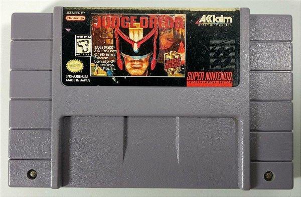 Judge Dredd Original - SNES