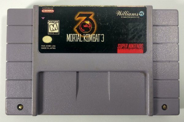 Mortal Kombat 3 Original - SNES