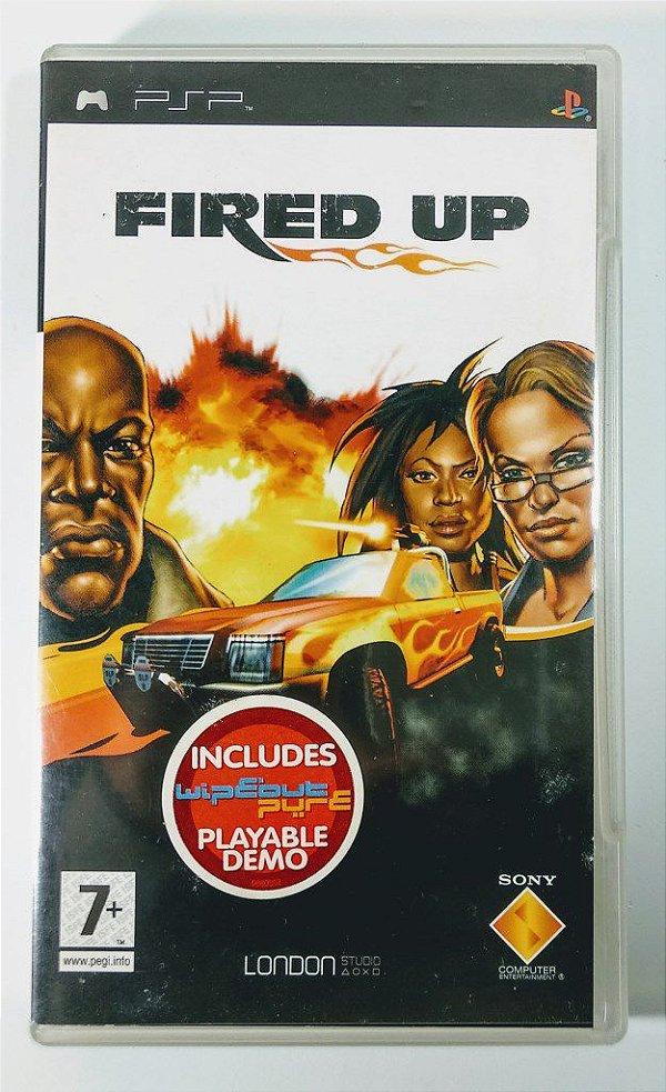 Fired Up Original [EUROPEU] - PSP