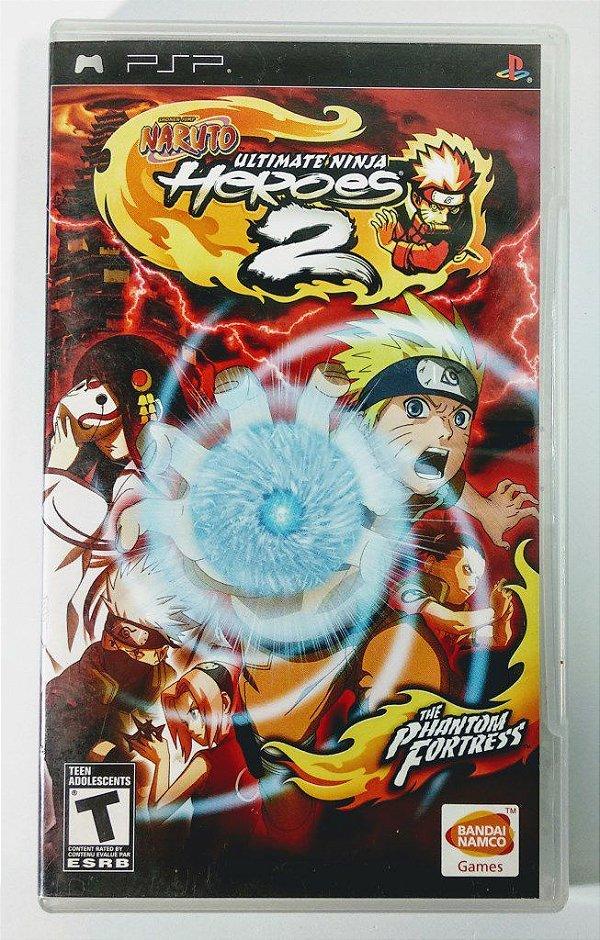 Naruto Ultimate Ninja Heroes 2 Original - PSP