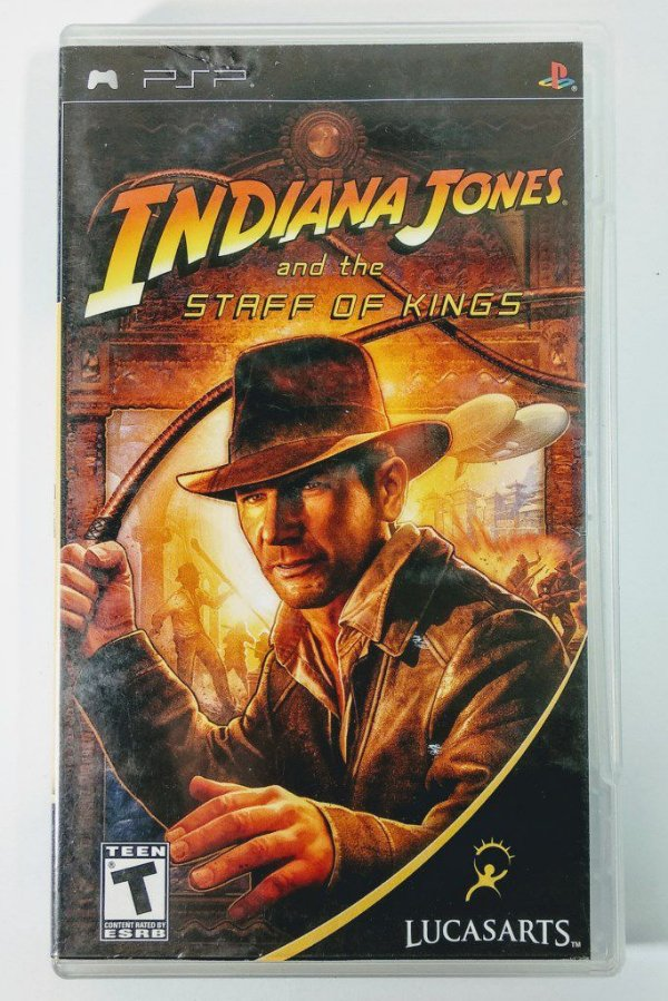 Indiana Jones and the Staff of Kings Original - PSP
