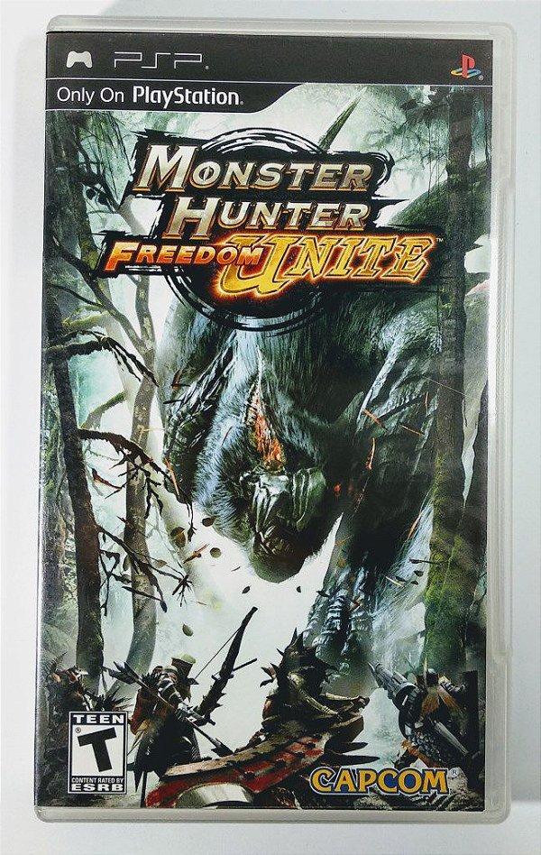 Monster Hunter Freedom Unite Original - PSP
