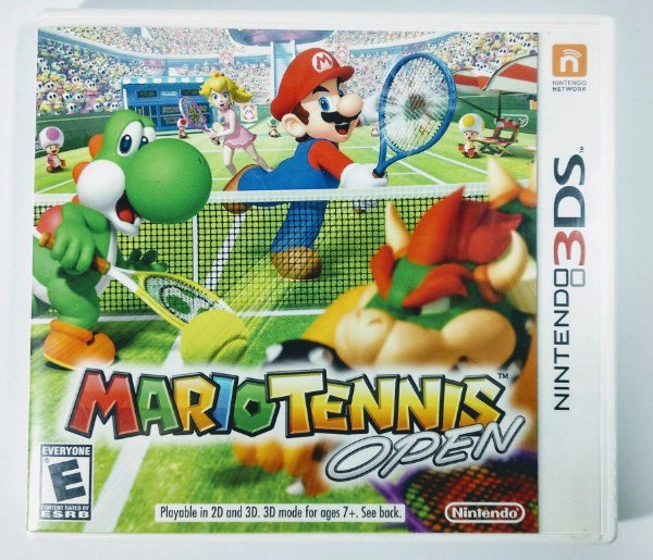 Mario Tennis Open Original - 3DS