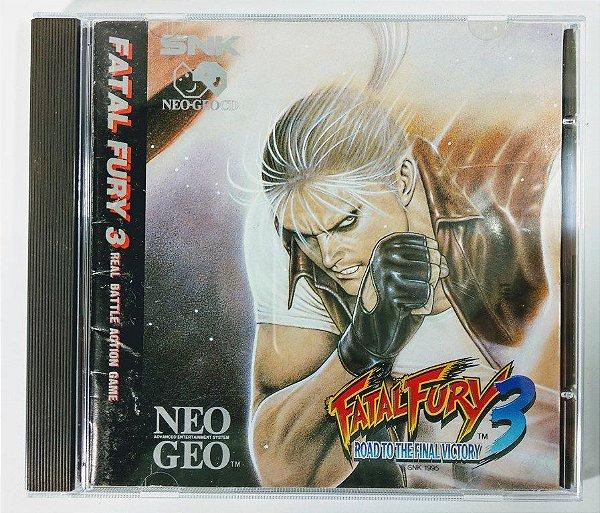 Fatal Fury 3 Original - Neo Geo CD
