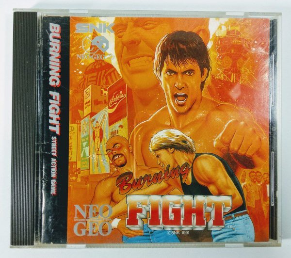 Burning Fight Original - Neo Geo CD