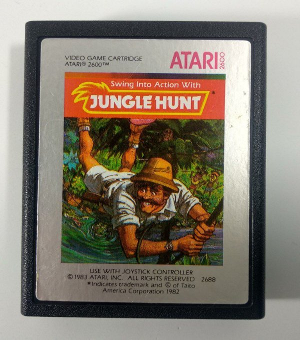 Jungle Hunt Original - Atari