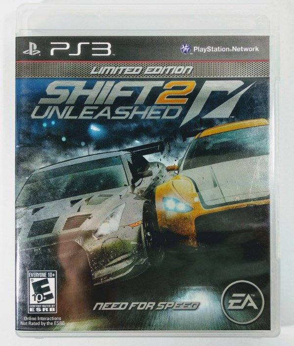Need for Speed Shift 2 Unleashed Limited edition - PS3