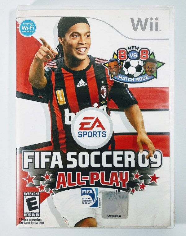Fifa Soccer 09 All-Play - Wii