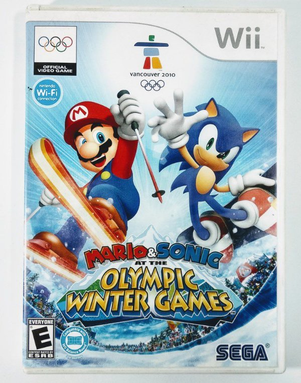 Mario & Sonic Olympic Winter Games - Wii