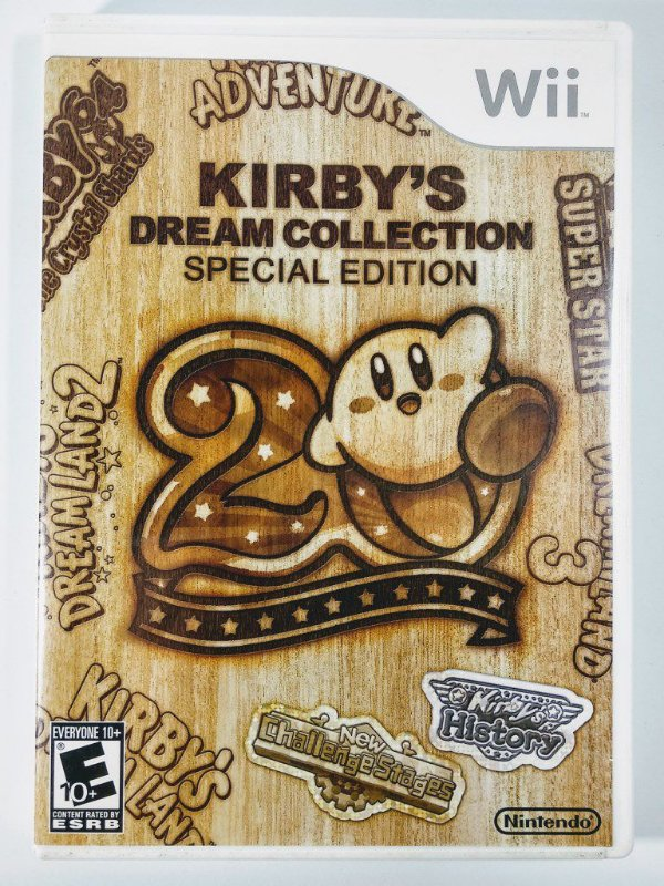Kirbys Dream Collection Special Edition - Wii