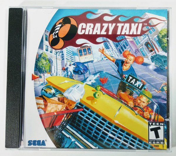 Crazy Taxi [REPLICA] - Dreamcast