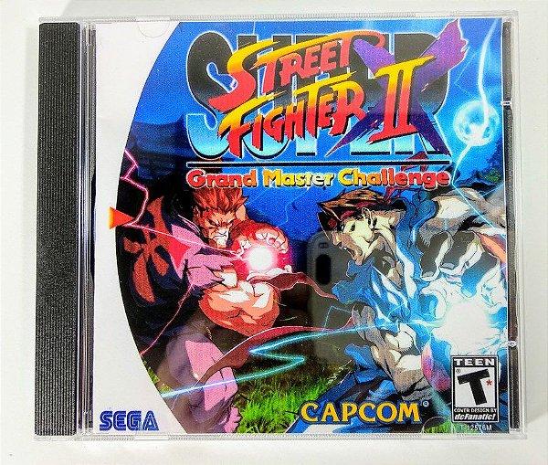 Super Street Fighter II Grand Master Challenge [REPLICA] - Dreamcast