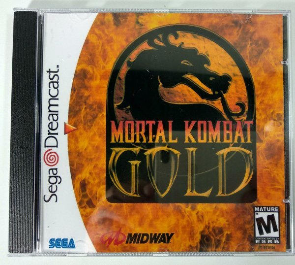 Mortal Kombat Gold [REPLICA] - Dreamcast