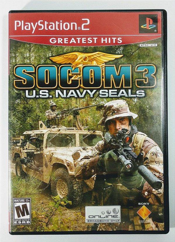 Socom 3 U.S Navy Seals Original - PS2