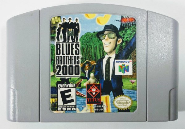 Blues Brothers 2000 Original - N64