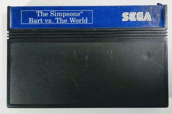 The Simpsons Bart vs. the World - Master System