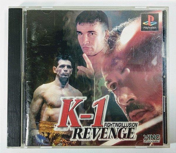 K-1 Revenge Original [JAPONÊS] - PS1 ONE