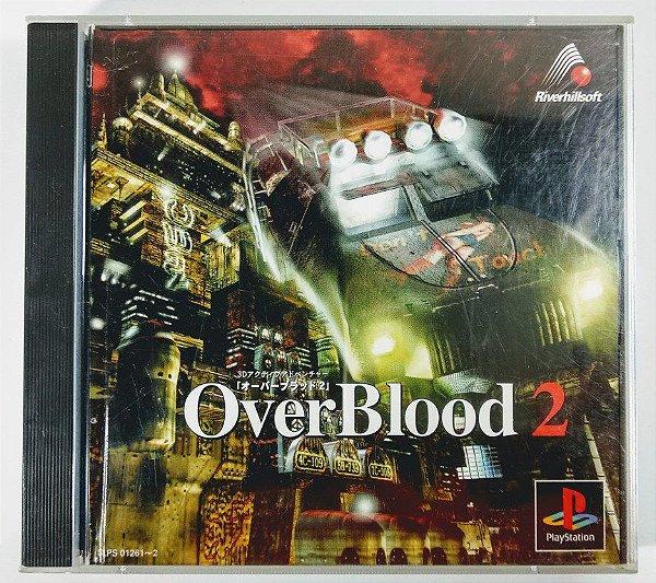 Over Blood 2 Original [JAPONÊS] - PS1 ONE