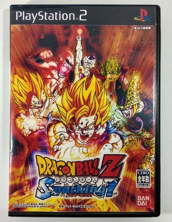 Dragon Ball Z Sparking! Original [JAPONÊS] - PS2