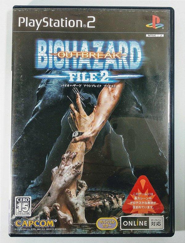 Biohazard Outbreak File 2 Original [JAPONÊS] - PS2