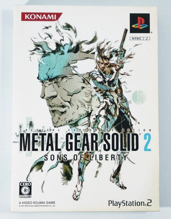 Metal Gear Solid 2 Original [JAPONÊS] - PS2