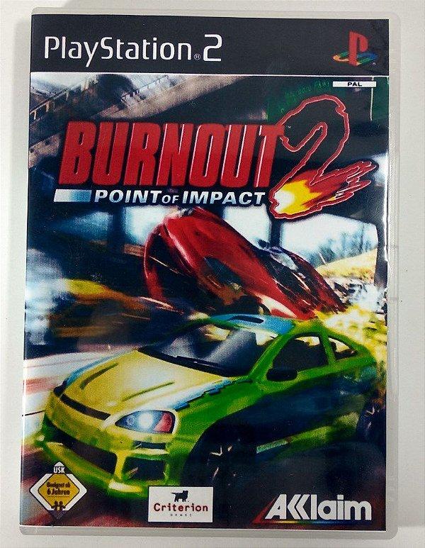 Burnout 2 Original [EUROPEU] - PS2