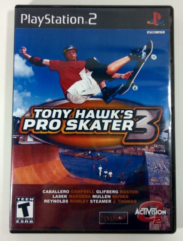 Tony Hawks Pro Skater 3 Original - PS2