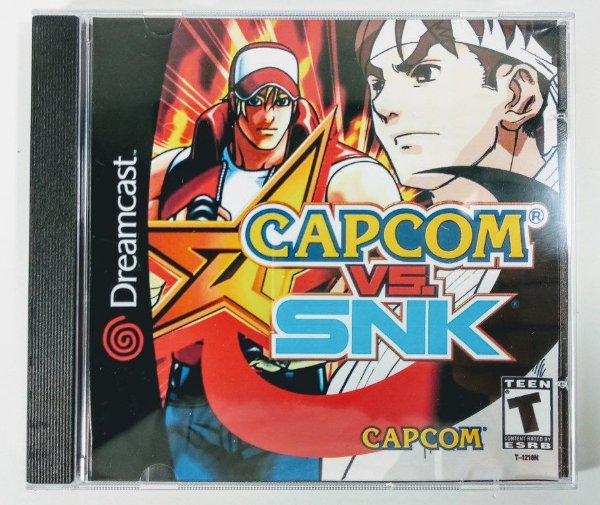 Capcom vs SNK [REPLICA] - Dreamcast