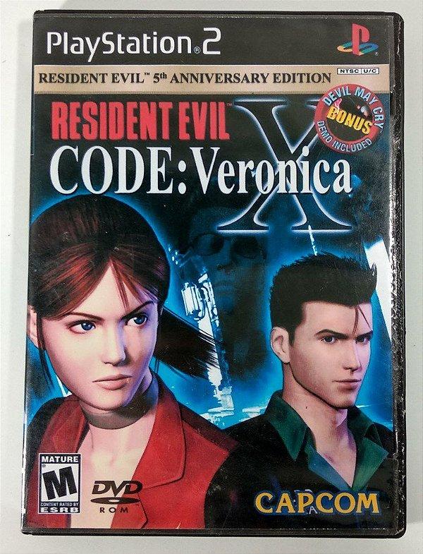 Resident Evil Code: Veronica X [REPLICA] - PS2